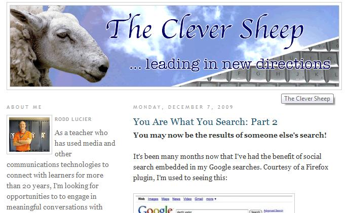 blog   the clever sheep